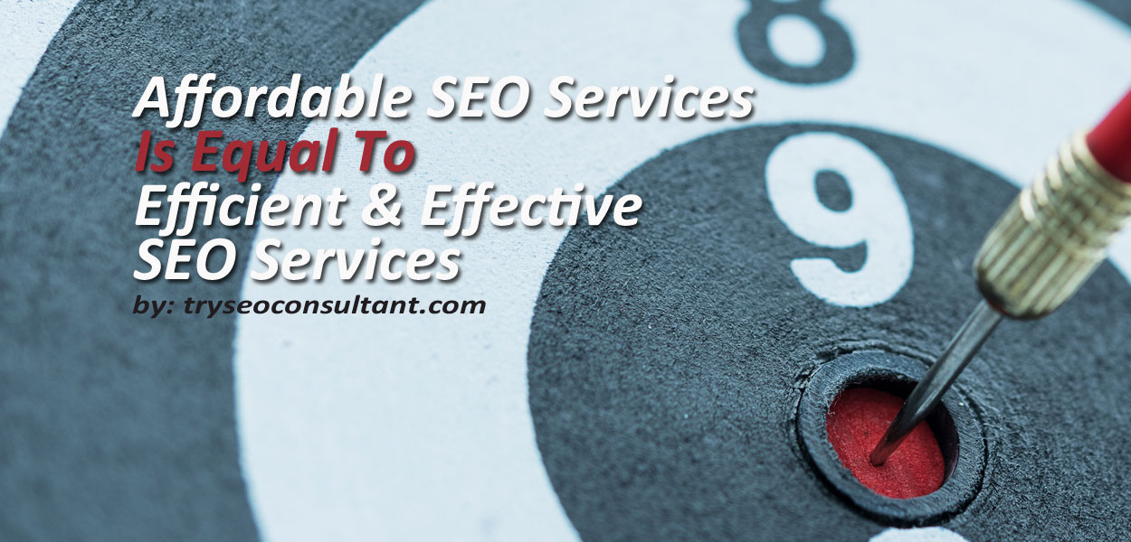 Affordable SEO consulting Services