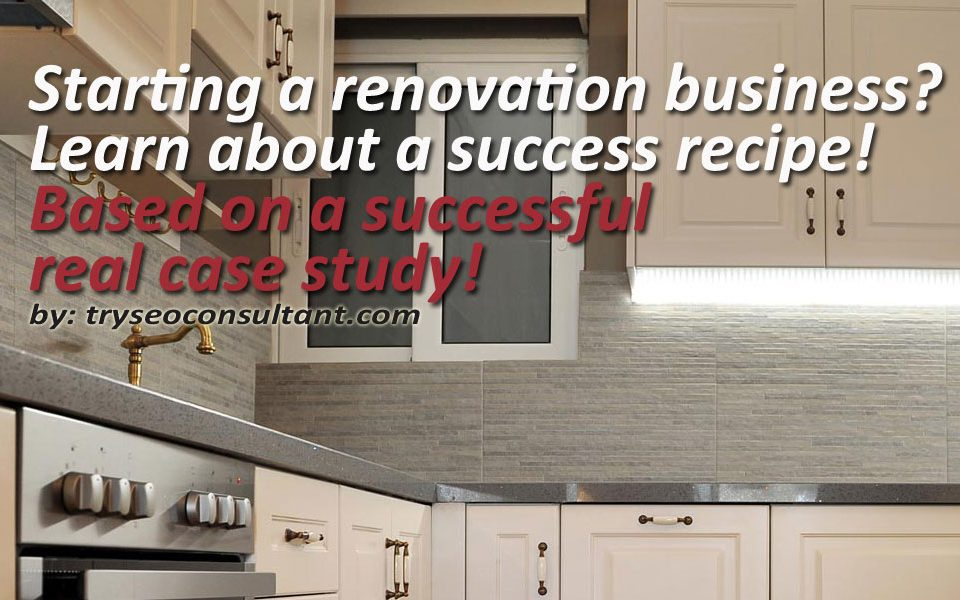 Starting a home renovation business with the help of digital marketing