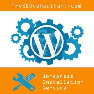 Wordpress installation services